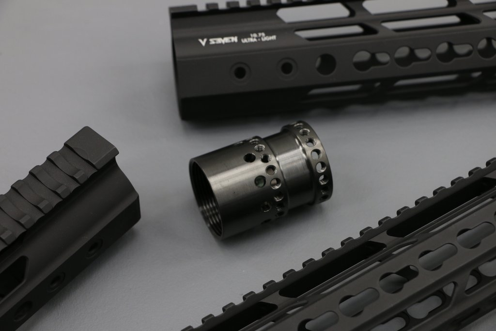 V Seven Weapon Systems 2099 ULTRA-LIGHT KEYMOD HANDGUARD