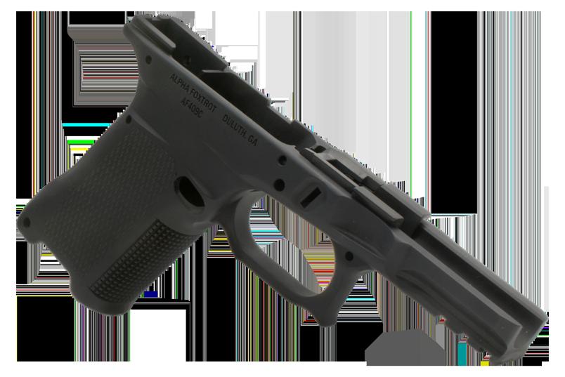 ALPHA FOXTROT AF409C Aluminum Glock Frame