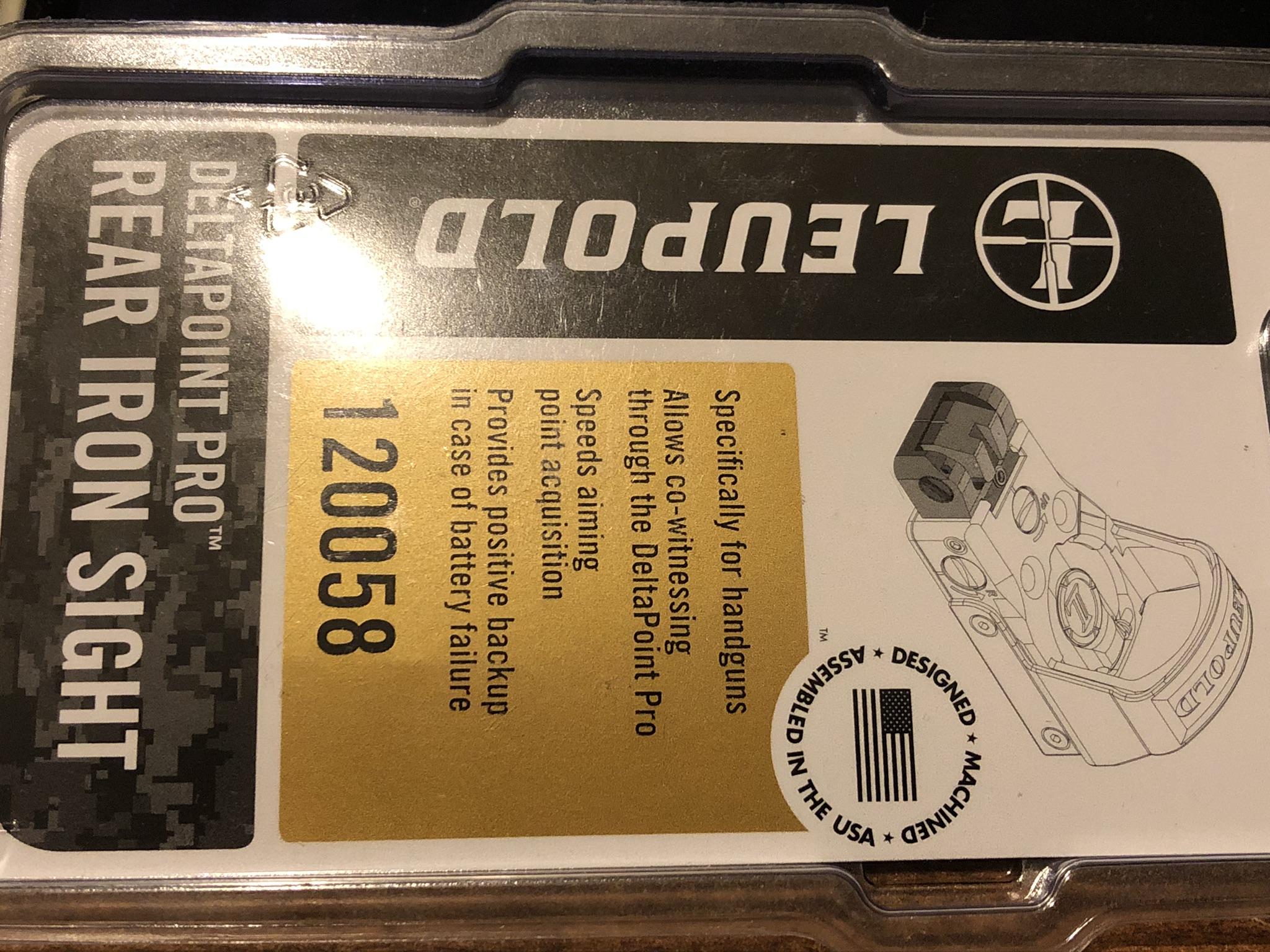 Complete Glock 34 slide milled for Leupold DeltaPoint Pro